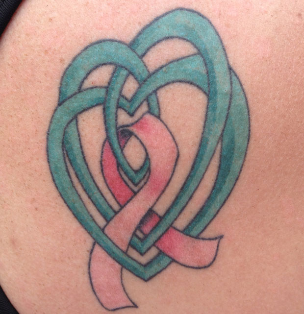 Beth's celtic pink ribbon